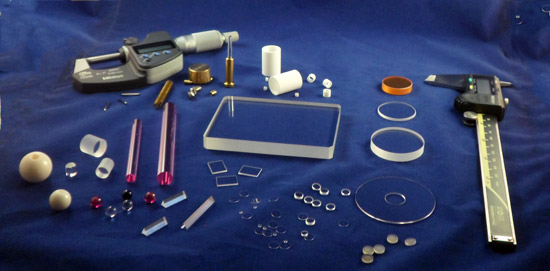 General Ruby And Sapphire Optics Jewel Bearings